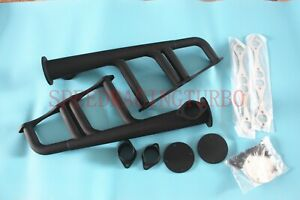 Exhaust Headers For Sbc 265 400 V 8 Chevy Street Hot Rod Rat Lake Style New