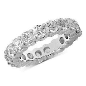 5 ctw Round Diamond Eternity Band in 14k White Gold Black Friday Deals
