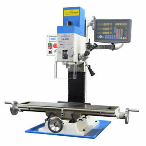 Pm 30mv Vertical Bench Type Milling Machine Variable Speed 3 axis Dro Ships Free