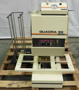 G162345 Tomtec Quadra 96 Model 320 6 station Automatic 96 well Liquid Handler