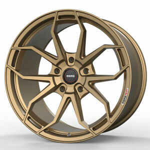 20 Momo Rf 5c Gold 20x9 Forged Concave Wheels Rims Fits Jeep Liberty