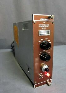 Ortec 456 High Voltage 0 3kv 0 10a Nim Bin Power Supply
