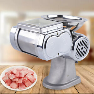 Commerical Automatic Meat Slicer Stainless Steel Beef pork Cutting Machine 110v