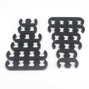 2sets Black Spark Plug Wire Separators Dividers Looms For Chevy Ford 9728