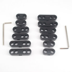 2sets 8 5mm 9mm 10mm Spark Plug Wire Separators Dividers Looms Chevy Ford 7343b