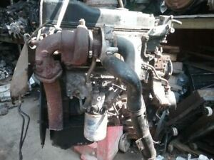 2004 Mitsubishi Fuso Fe Fe649 Turbo Diesel 4cyl Engine Motor 4d34 3at3b 4d34