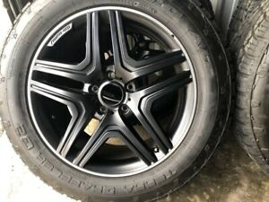 20 Wheels Fit Mercedes rims Terra Grappler Tires G Wagon Amg G63 Black Rims