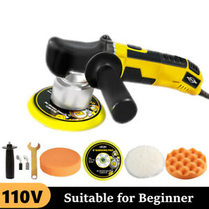 Dual Action Car Polisher Buffer Sander Machine Variable Speed Diy Waxer Tool Kit