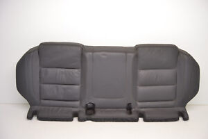 Mk5 Vw R32 Gti Anthracite Leather Rear Bench Lower Cushion Seat Oem 2006 2009