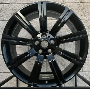 22 Range Rover Stormer Style Wheels Tires Gloss Black Rims Sport Supercharged
