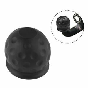 Universal Tow Bar Ball Cover Cap Towing Hitch Caravan Trailer Towball Protect