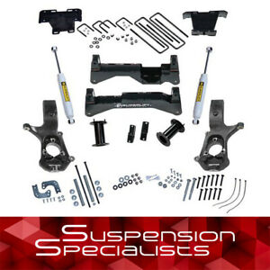 Superlift 8 Lift Kit W Rear Shocks 2007 2016 Chevy Silverado Gmc Sierra 1500