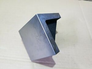 3 Angle Plate Solid Webbed 75mm 3x3x3 Precision Ground Stress Relieve Cast Iron