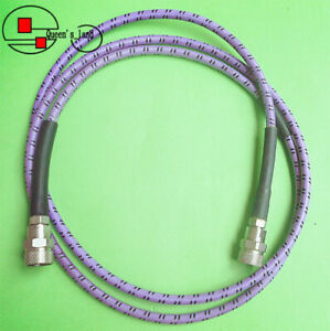 1 Gore Oszkuzku060 0 Dc 18ghz 1 5m N male To N m High Frequency Low Loss Cable
