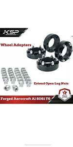 1 5 Hub Centric 6x5 5 Wheel Spacers Adapters For 4runner Tacoma 20pcs Lug Nut