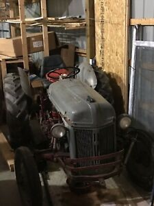 1948 Ford 8n Tractor 1949 Model Side Cutter Bar Assembly Included Used L k