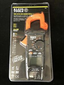 Klein Tools Cl800 Digital Auto ranging Ac dc 600a Clamp Meter Free Shipping