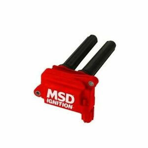 Msd Ignition Coil Blaster Hvc 2 Coil Pack Fits Chrysler Dodge Jeep 5 7 6 1 Of 8