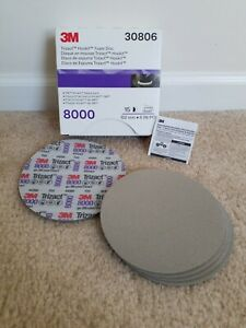 3m Trizact 8000 Grit 6 Foam Discs 5 Sheets 3m 30806 Sale Price
