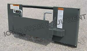 standard Universal Skid Steer To mini Skid Steer Quick Attach Adapter