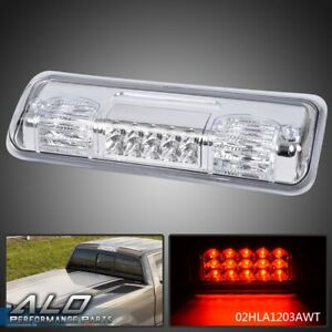 For 04 08 Ford F 150 Pickup Truck Clear Lens Led Third 3rd Brake Tail Light Lamp