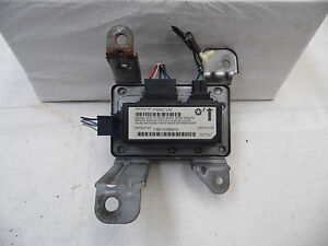 Oem 1995 Jeep Grand Cherokee Orvis Edition Electronic Air Bag Controller Module