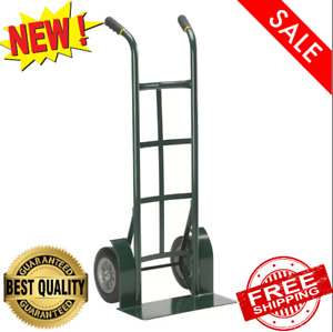 2 Wheel Dolly Hand Truck Cart Mover Heavy Duty Steel 10 Never Flat Tires 1000lb