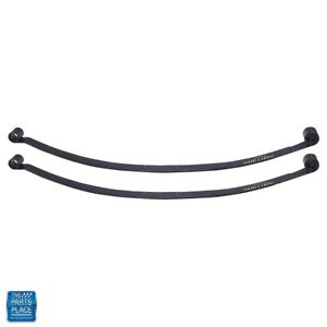 1967 1969 Camaro Firebird 1968 1979 Nova Chevy Ii Rear Mono Leaf Springs Pair
