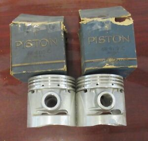 1939 53 Nos Ford Mercury Flat Head Engine Dome Top Pistons