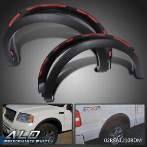 For 2004 2008 Ford F150 Styleside Factory Style Fender Flares Wheel Protector
