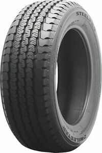 4 New Milestar Steelpro Ms597 Lt 9 5r16 5 Load E 10 Ply Light Truck Tires
