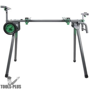 Metabo hpt Uu240fm Heavy duty Universal Portable Miter Saw Stand New