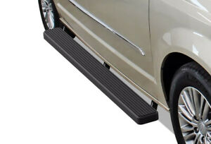Iboard Running Boards 6 Inches Matte Black Fit 11 20 Dodge Grand Caravan