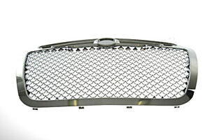 Front Grille Bentley Type Chrome Fits Chrysler 300c 2005 2011