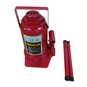 32 Ton Heavy Duty Garage Motorcycle Off Road Hydraulic Bottle Jack Stand Tool