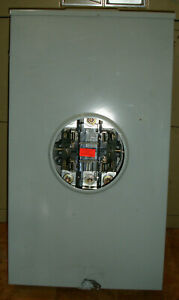 New Durham Meter Socket 200 Amp Single Phase 4 Terminal Bypass Ships Today