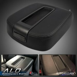 New Center Console Armrest Lid Black For Cadillac Chevy Gmc Pickup Truck 07 14
