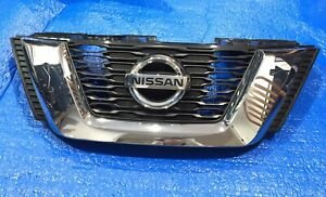 2017 2018 Nissan Rogue Oem Upper Grille With Emblem 623105hk0a n62