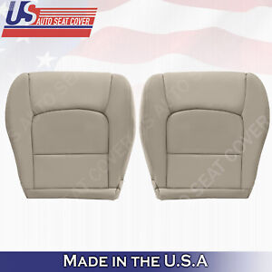 For Lexus 1998 2007 Lx470 Safari Roof Rack driver Bottom Leather Seat Cover Tan