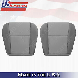 Replacement For 2011 2015 Toyota Tacoma Bottoms Cloth Seat Cover In 2 tone Gray