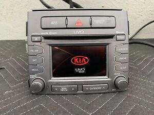 2011 2013 Kia Soul Oem Uvo Infinity Bluetooth Am Fm Hd Sat Radio Receiver