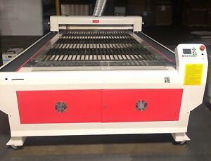 Laser Engraver Cutter 150watt Co2 Used 52 x100 Bed Bescutter Add l Parts Avail