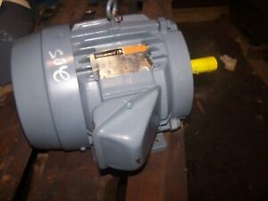 Reliance 7 5 Hp Ac Electric Motor 213t Frame 3485 Rpm 230 460 Vac 3 Phase Tefc