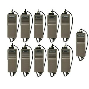 Lot Of 11x Motorola Ht600 Fue1642a 458mhz 2w Portable Radios