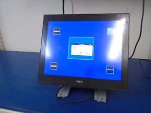 Nec Pos Terminal Touch Screen Tw52fl Pos Core Unit And Base Unit