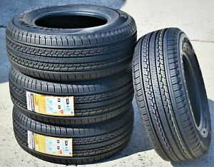 4 New Mazzini Ecosaver 255 65r16 109h A s All Season Tires