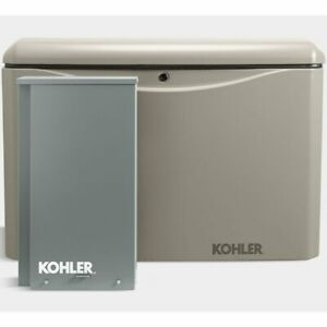 Kohler 20rcal 200sels 20kw Aluminum Standby Generator System 200a Service Di