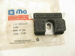 Nos Oem Mopar Battery Hold down Clamp 52001160 For Various Jeep Dodge