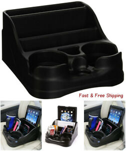 New Car Cup Holder Organizer Universal Center Console Rv Truck Drink Storage
