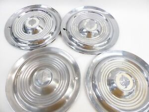 Set Of 4 Oldsmobile Hubcaps Wheel Covers 1954 1955